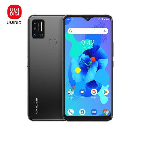 A7 (4GB ,64GB ROM) 6.49''Full Screen Android 10 (16MP+8MP+5MP+5MP)+16MP 4150mAh Global Band Dual 4G Triple Slots-Grey