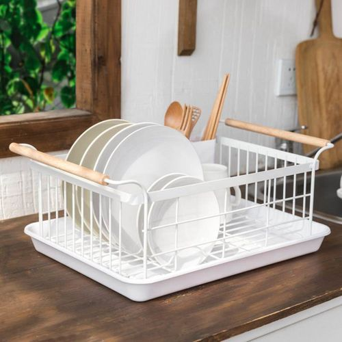 Drainer Kitchen Drying Rack Sink Cup Holder Bowl Storage