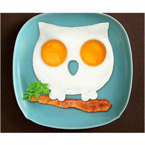 Silicone Owl Shaped Fried Eggs Fried Eggs Shaper Breakfast Kitchen Cooking Tool