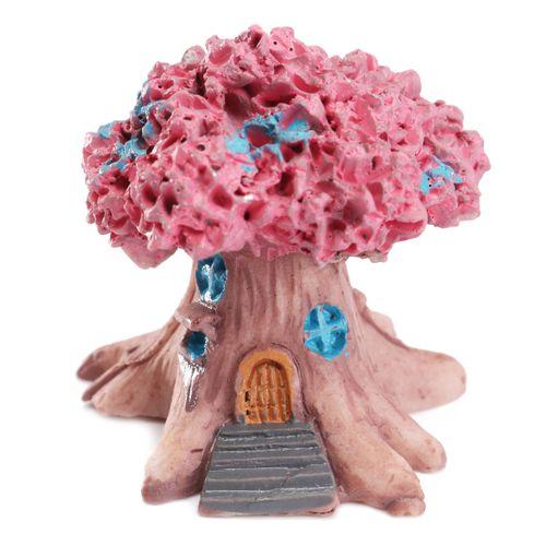 Micro Landscape Fairy Garden Craft Tree House Resin Ornaments Decorative