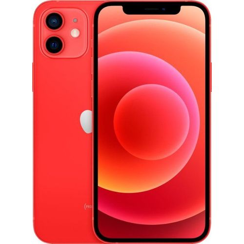 IPhone 12 6.1 Inches 4GB RAM, 64GB ROM, (12MP + 12MP) - Red