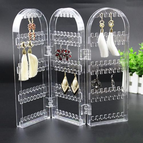 Creative Ear Nail Necklace Plastic Jewelry Display Stand Earrings 3 Small Screen Jewelry Jewelry Rack