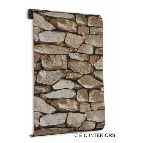 3D Effect Wall Paper For Home And Offices