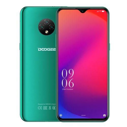 X95 2GB+16GB Face ID 6.52 Inch Water-drop Screen Android 10 4G OTG OTA Smartphone - Green
