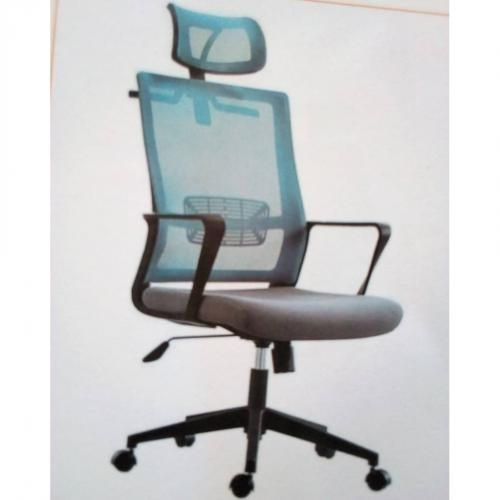 Executive Mesh Chair With Headrest-Black (delivered To Customers In Lagos, Anambra And Asaba)