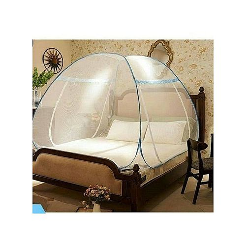 FOLDABLE MOSQUITO TENT NET 7X7 BED (200CMX200CM)