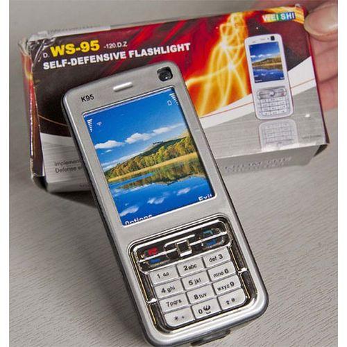 Cell Phone Type Stun Device For Self Defense (1200KV)