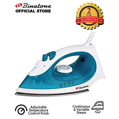 Smoother Gliding Steam Iron SI-1605 - Blue.