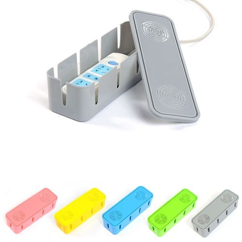 Honana HN-B60 Colorful Cable Storage Box Large Household Wire Organizer Power Strip Cover