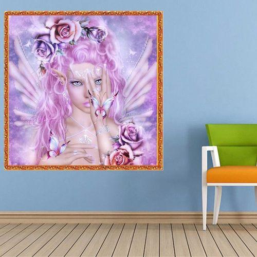 Goddess Needlework 5D DIY Diamond Painting Square Crystal Wall Sticker