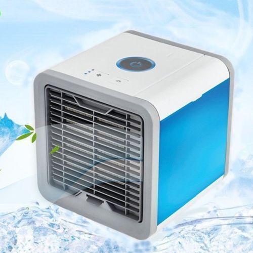 Arctic Mini Air Cooler Small Air Conditioning Appliances Mini Fan Summer Portable Strong Wind + Free Air Freshner