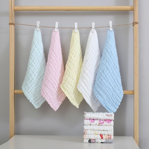 Baby Fiber Gauze Towel Kids' Bath Towel Colorful 5 In 1 Kets