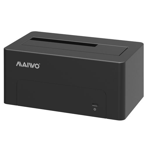 Maiwo K308c Usb Type C Usb3.1 (Usb-C) To Sata 2.5/3.5 Inch External Hard Drive Disk Docking Station Enclosure For For 3.5 2.5 Sata Hdd And Ssd Support Up To 8TB - Tool Free 1 Bay Black