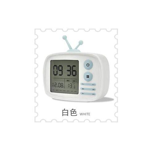 Temperature Display DC 5V Digital Alarm Clock TV Bedside Student Backlight Clock
