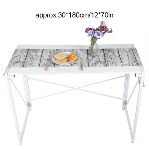Satin Retro Cotton Linen Decorative Table Runner For Home Kitchen Tablecover Table Decoration For Home