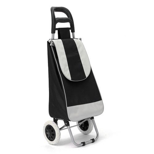 45L Litre Shopping Trolley Cart Grocery Bag Lightweight Folding 2 Wheels