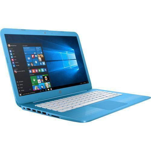 "Stream 14-CB011 5LH92UA Intel Celeron Dual Core N3060,1.6GHz,32ssd/4gb,""14""(1366X768),Win10-BLUE"