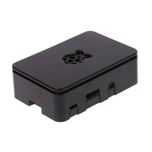 ABS Updated Case Premium Raspberry Pi Case For Raspberry Pi 3 2 And B+ Black