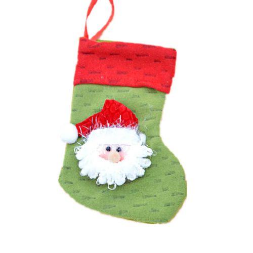 1pc Father Christmas Xmas Santa Claus Pants 18cm Small Christmas Stocking Christmas Decorations For Christmas Gift Bag