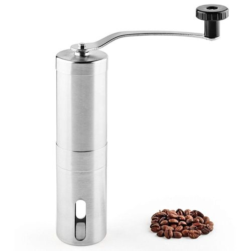 Portable Manual Stainless Steel Coffee Grinder Coffee Maker For Home Kitchen Office Outdoor