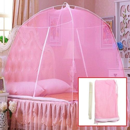 Pink Foldable Mosquito Net Tent For 6by6