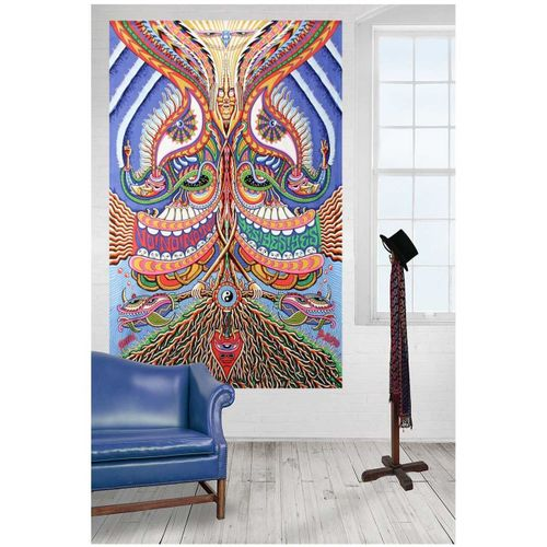 Muliawu Store Wall Hanging Tapestry Wall Hanging Bedspread Beach Towel Mat Blanket Table -Colorful