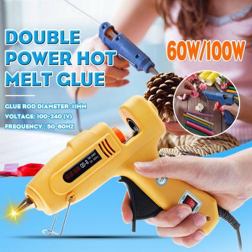 Adjustable Hot Melt Glue Tools 11mm 2 Power Levels US