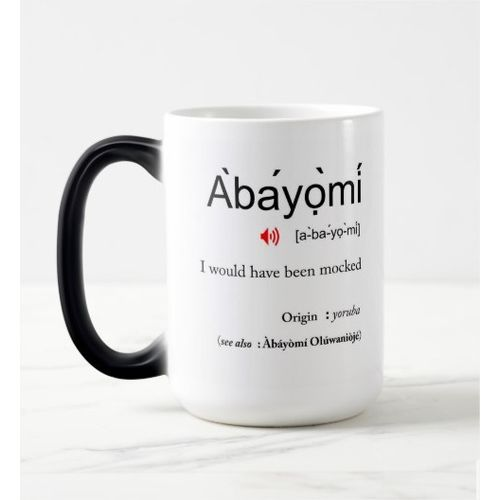 Color Changing Magic Mug - Abayomi