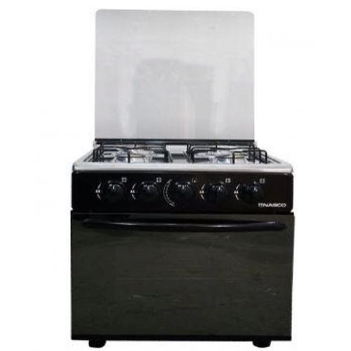 MIDEA 5 BUNNER GAS COOKER WHIT GRILL (36LMG5028-B) BLACK