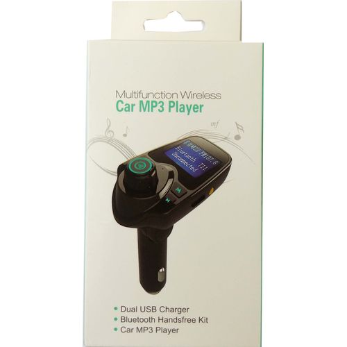 T11 Bluetooth Car Kit FM Transmitter Radio Adapter USB Charger MP3 Player