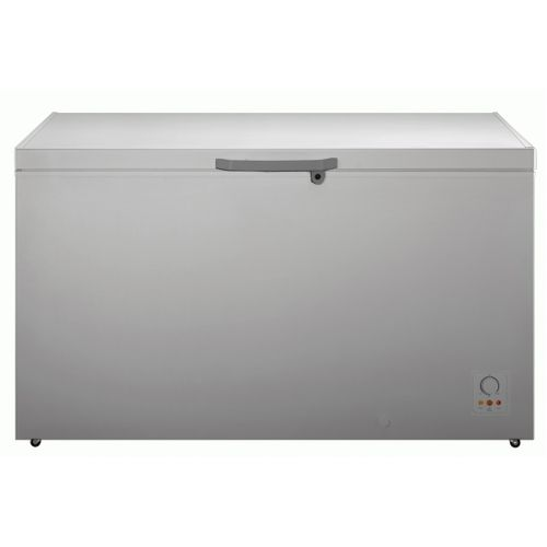 Double Door Chest Freezer FRZ FC 55DD - 420Liters-Silver