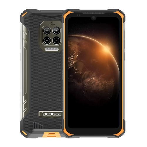 S86 Rugged Phone, 6GB+128GB,6.1 Inch Android 10, Network: 4G(Orange)