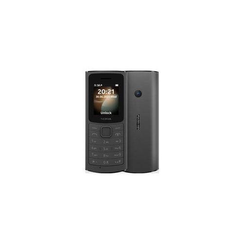 110 4G,1.8 Display QQVGA, Rear Camera, FM Radio,1020mAh_Black