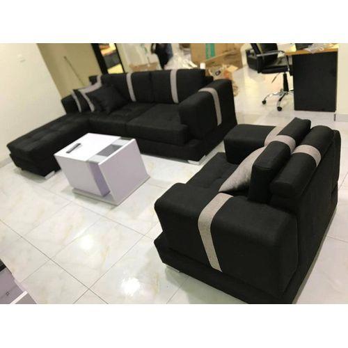 7seater Black Sofa(lagos Only
