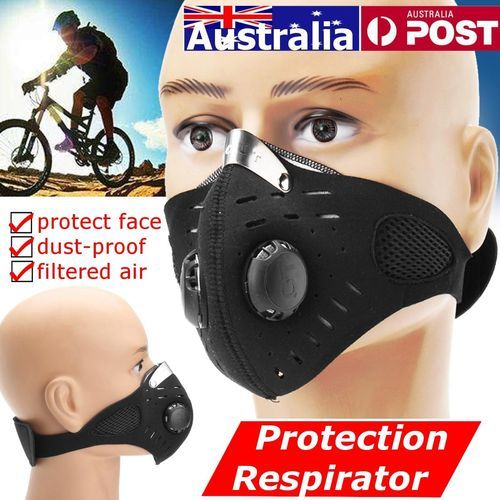 Respirator Mask Dust Proof Half Face Outdoor Anti Gas Pollen Allergy Protection