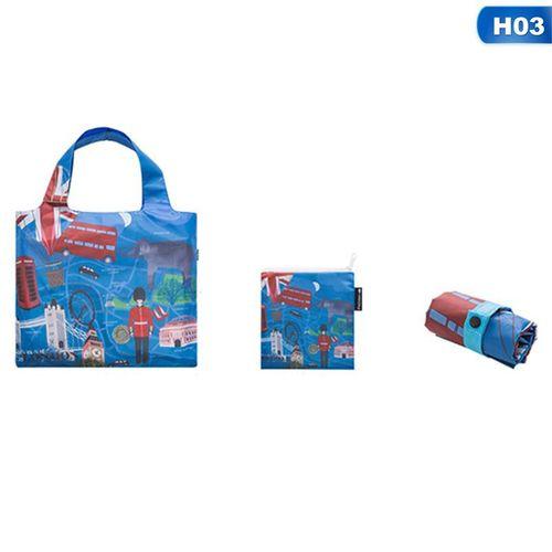 Eco Friendly Shopping Bags Waterproof Travel Custom Reusable Handbag Shoulder Cloth Pouch Foldable Grocery Bulk Organizer