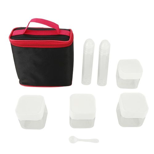 Outdoor Camping Spice Jars Organizer Container Set Spice Box With Storage Bag