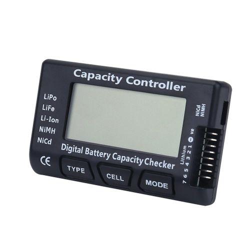 Digital Battery Capacity Checker Voltage Tester Detector For LiPo Li-ion LiFe NiMH/NiCd Battery