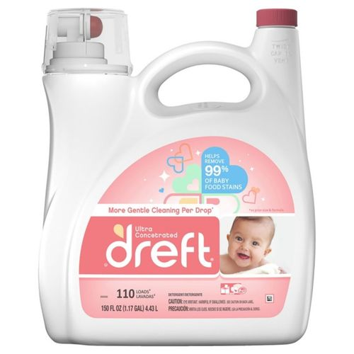 Ultra Concentrated Liquid Laundry Detergent (110 Loads, 150 Fl Oz)