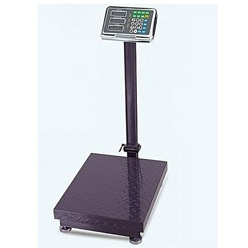 150KG DIGITAL PLATFORM SCALE WITH CHECKERED PLATE