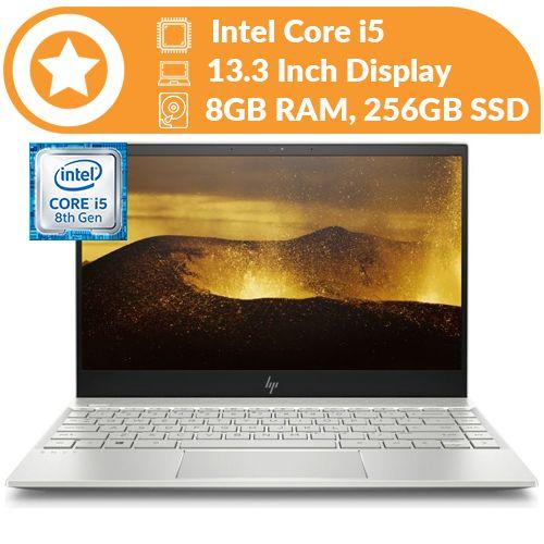 HP Envy 13 8th Gen Intel Core I5,256GB SSD,8GB RAM, Touchscreen/Backlit Keyboard Win10
