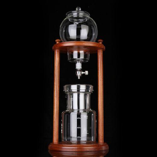 Ice Cold Brew Coffee Maker Home Wooden Water Drip Coffee Dutch Brewed Machine