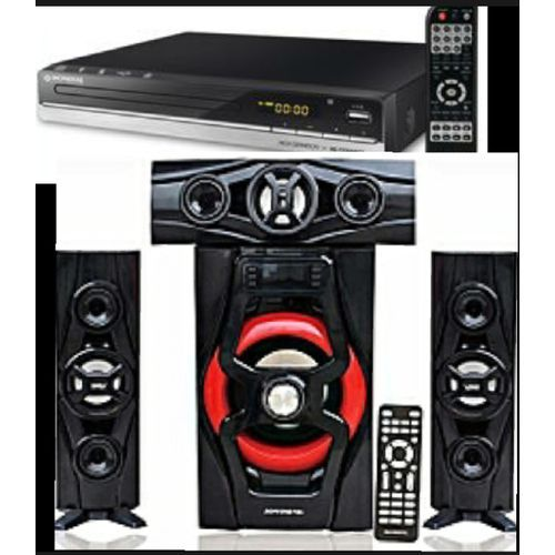 Home Theatre Sounds System 3.1 And DVD Player
