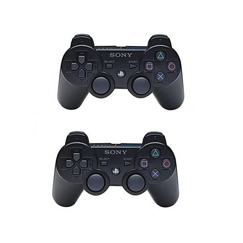 A Pair Of Dual Shock 3 Wireless Controller For PS3