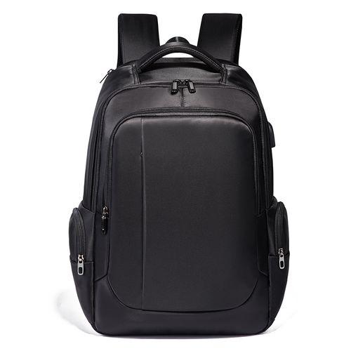 Men's Laptop Backpack, Extra Large Travel Bag - Black