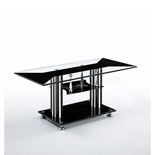 Tempered Glass Coffee Center Table(Prepaid Orders Only)