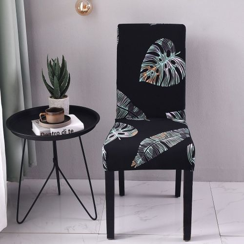 OR Flower Printed Removable Chair Cover Elastic Slipcover Kitchen Seat Case Multicolor