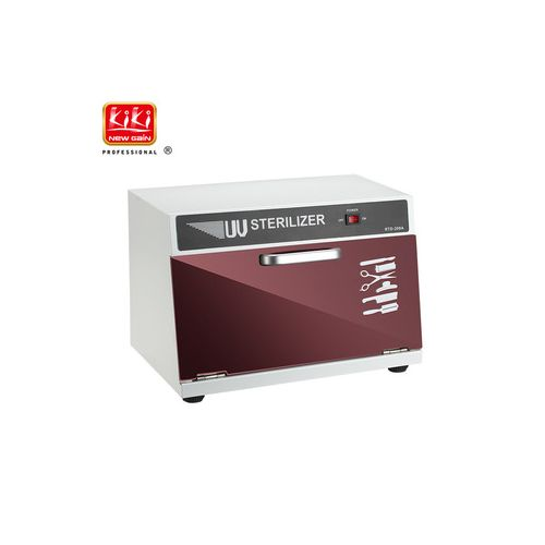 8L KIKI NEWGAIN Wholesale UV Lamp Sterilizer Tool Salon UV Sterilizer Cabinet Box