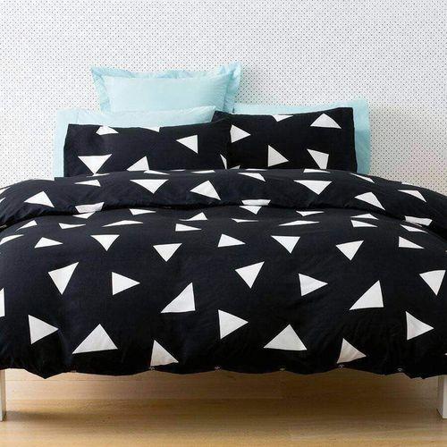 Luxury Microfibre Duvet + Bedsheet Set- Multicolour
