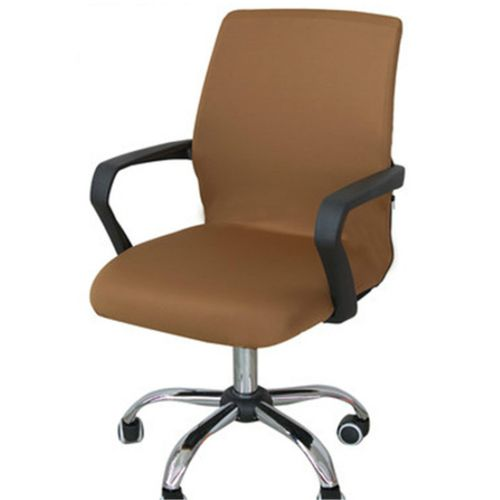 CAVEEN S/M/L Spandex Stretch Office Computer Chair Fabric Back Seat